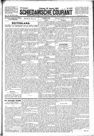 Schiedamsche Courant 1929-01-26