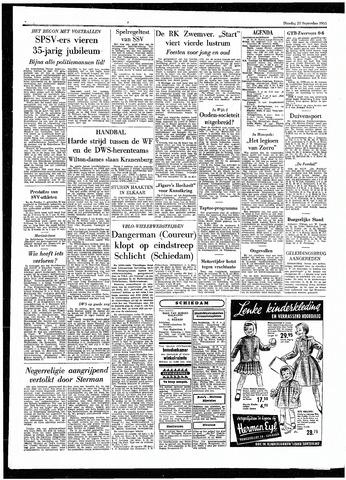 Rotterdamsch Parool / De Schiedammer 1955-09-20