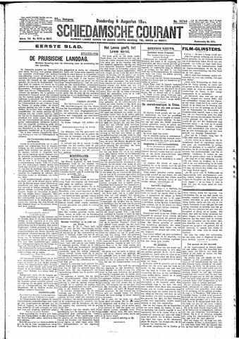 Schiedamsche Courant 1931-08-06