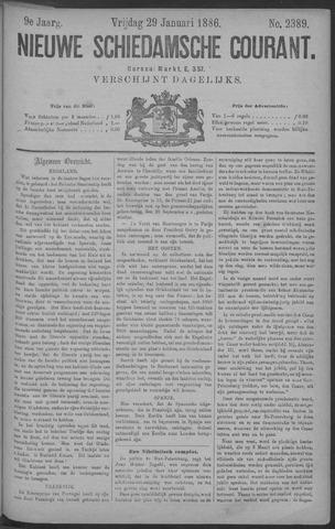 Nieuwe Schiedamsche Courant 1886-01-29