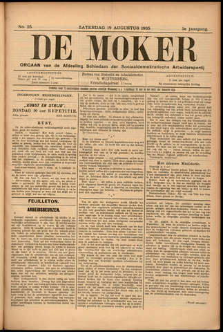 De Moker 1905-08-19