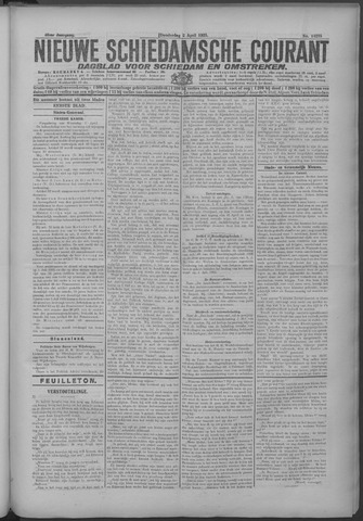 Nieuwe Schiedamsche Courant 1925-04-02