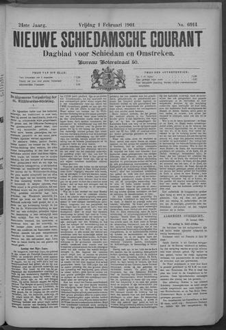Nieuwe Schiedamsche Courant 1901-02-01