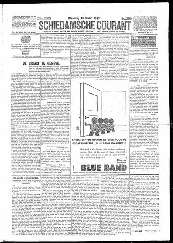 Schiedamsche Courant 1933-03-13