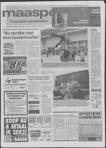 Maaspost / Maasstad / Maasstad Pers 2001-03-07