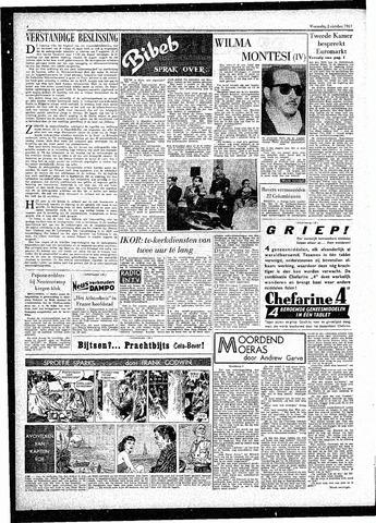 Rotterdamsch Parool / De Schiedammer 1957-10-02