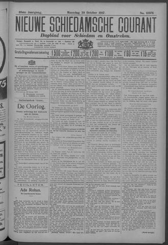 Nieuwe Schiedamsche Courant 1917-10-29