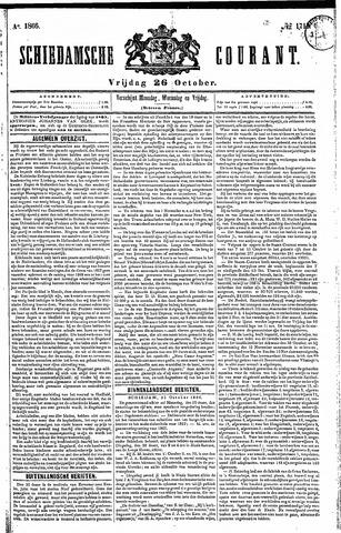 Schiedamsche Courant 1866-10-26