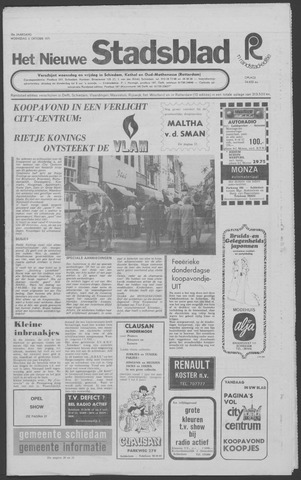 Het Nieuwe Stadsblad 1971-10-06