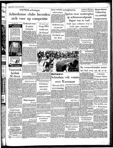 Rotterdamsch Parool / De Schiedammer 1963-08-19