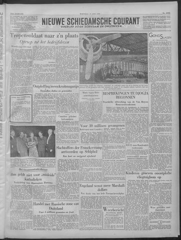 Nieuwe Schiedamsche Courant 1949-07-27