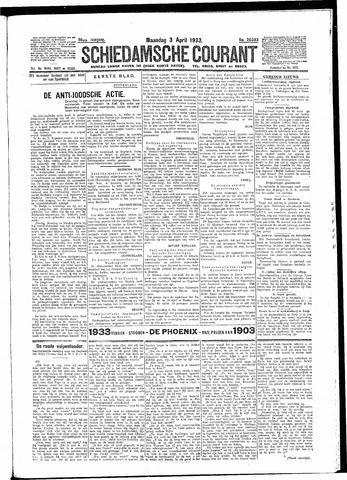 Schiedamsche Courant 1933-04-03
