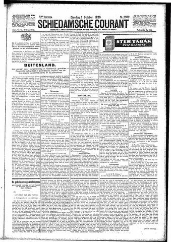 Schiedamsche Courant 1929-10-01