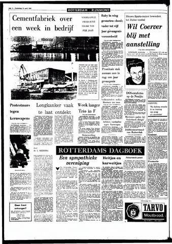Rotterdamsch Parool / De Schiedammer 1966-04-14
