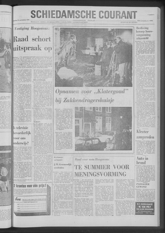 Rotterdamsch Nieuwsblad / Schiedamsche Courant / Rotterdams Dagblad / Waterweg / Algemeen Dagblad 1970-11-24