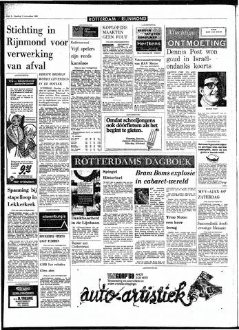 Rotterdamsch Parool / De Schiedammer 1968-11-19