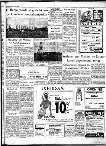 Rotterdamsch Parool / De Schiedammer 1962-07-18