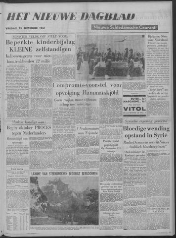 Nieuwe Schiedamsche Courant 1961-09-29