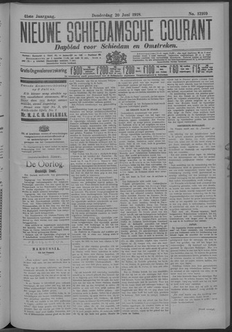 Nieuwe Schiedamsche Courant 1918-06-20