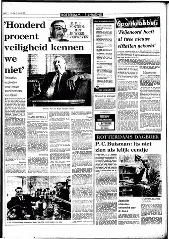 Rotterdamsch Parool / De Schiedammer 1968-03-12