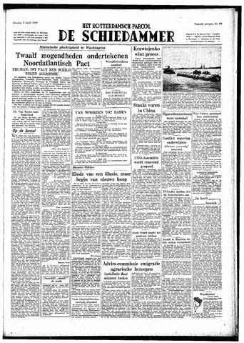 Rotterdamsch Parool / De Schiedammer 1949-04-05