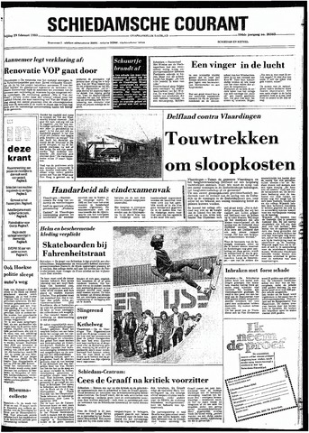 Rotterdamsch Nieuwsblad / Schiedamsche Courant / Rotterdams Dagblad / Waterweg / Algemeen Dagblad 1980-02-29