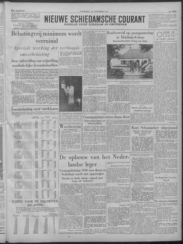 Nieuwe Schiedamsche Courant 1949-09-22
