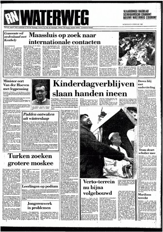 Rotterdamsch Nieuwsblad / Schiedamsche Courant / Rotterdams Dagblad / Waterweg / Algemeen Dagblad 1987-02-04