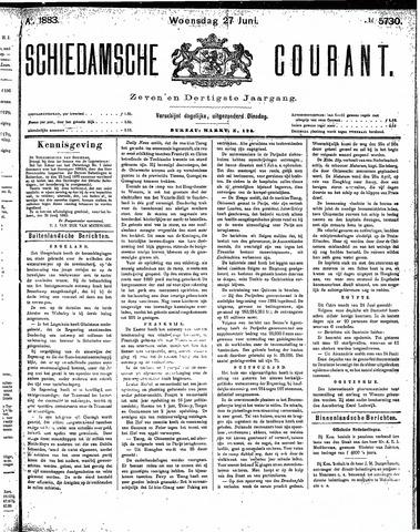 Schiedamsche Courant 1883-06-27