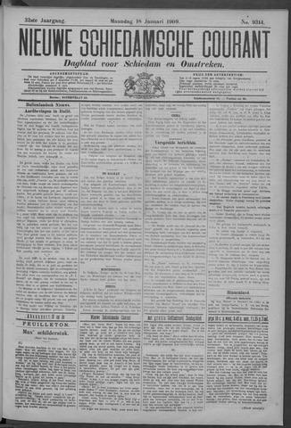 Nieuwe Schiedamsche Courant 1909-01-18