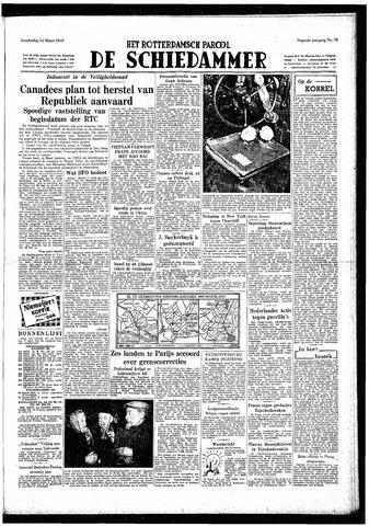 Rotterdamsch Parool / De Schiedammer 1949-03-24