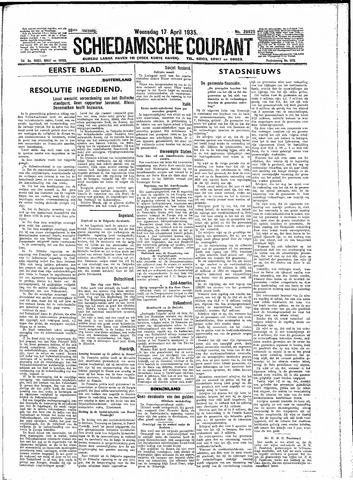 Schiedamsche Courant 1935-04-17