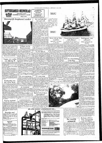 Rotterdamsch Nieuwsblad / Schiedamsche Courant / Rotterdams Dagblad / Waterweg / Algemeen Dagblad 1964-07-07