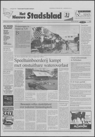 Het Nieuwe Stadsblad 2001-02-08