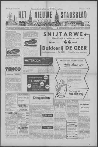 Het Nieuwe Stadsblad 1956-09-19