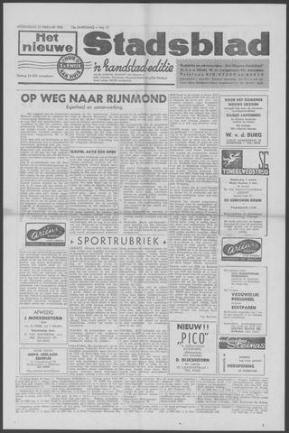 Het Nieuwe Stadsblad 1960-02-24