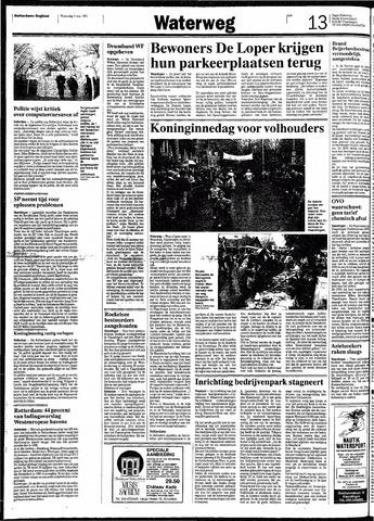 Rotterdamsch Nieuwsblad / Schiedamsche Courant / Rotterdams Dagblad / Waterweg / Algemeen Dagblad 1991-05-01