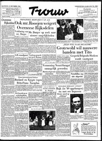 Trouw / De Rotterdammer 1956-10-08