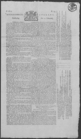Rotterdamse Courant 1823-02-27