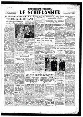 Rotterdamsch Parool / De Schiedammer 1949-07-05