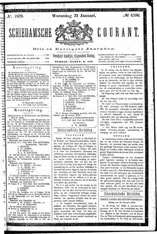Schiedamsche Courant 1879-01-22