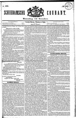Schiedamsche Courant 1866-10-15