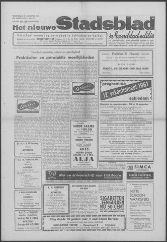 Het Nieuwe Stadsblad 1961-08-09