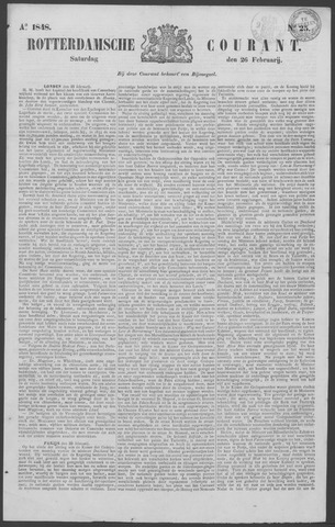 Rotterdamse Courant 1848-02-26