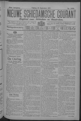 Nieuwe Schiedamsche Courant 1917-09-21