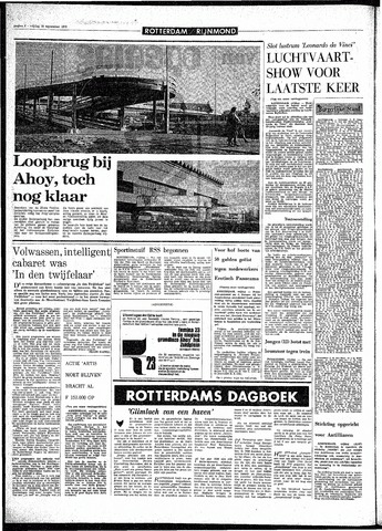 Rotterdamsch Parool / De Schiedammer 1970-09-18