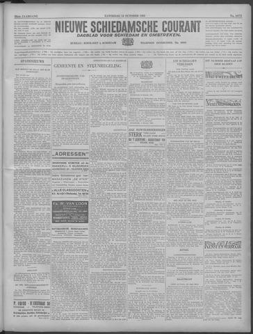 Nieuwe Schiedamsche Courant 1933-10-14