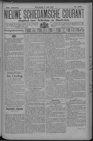 Nieuwe Schiedamsche Courant 1917-07-04