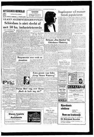 Rotterdamsch Nieuwsblad / Schiedamsche Courant / Rotterdams Dagblad / Waterweg / Algemeen Dagblad 1966-11-23