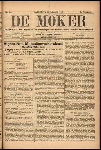 De Moker 1908-02-29